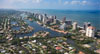 aerial of Florida Keys